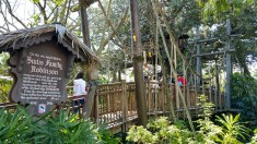 Swiss Family Robinson Entry - Magic Kingdom